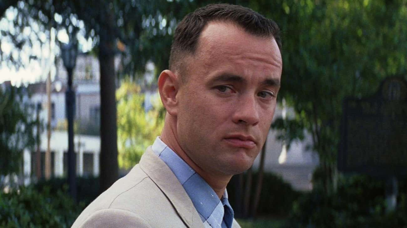 Forrest Gump is listed (or ranked) 1 on the list The Best Fictional Characters Who Never Give Up