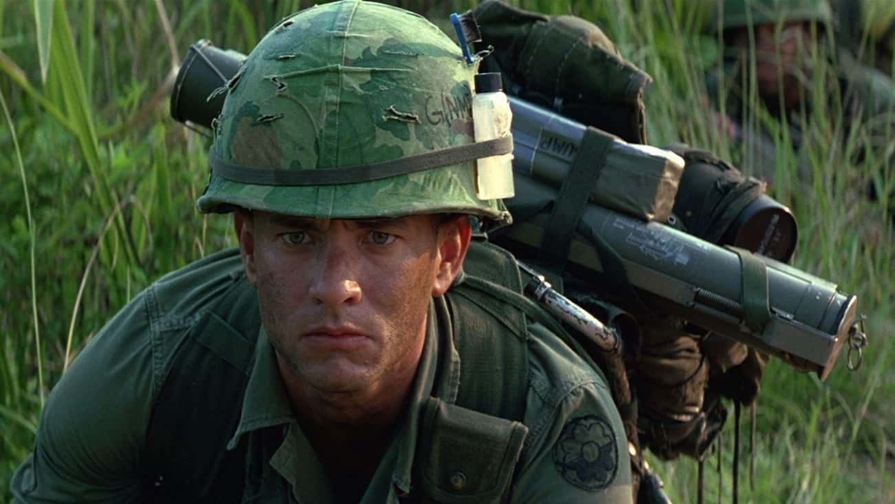 Sergeant Forrest Gump In 'Forr is listed (or ranked) 1 on the list The Most Memorable Portrayals Of Veterans In Film