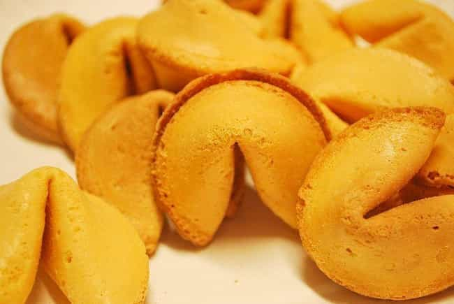 Fortune cookie is listed (or ranked) 1 on the list Foods That Are Totally Different In The United States