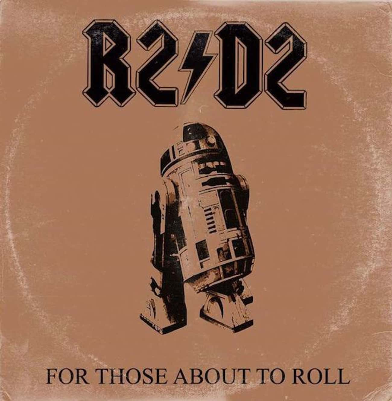 AC/DC - For Those About to Roc is listed (or ranked) 4 on the list Iconic Album Covers Reimagined with Star Wars Characters