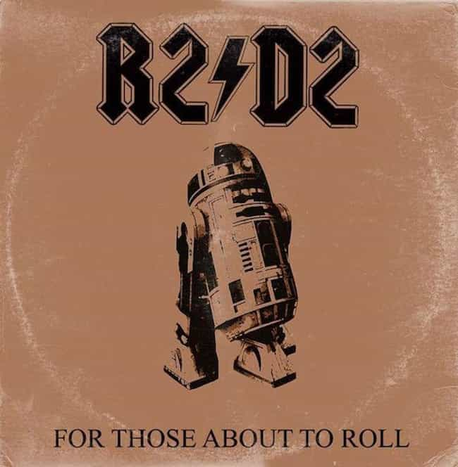 For Those About to Rock (We Sa... is listed (or ranked) 3 on the list Iconic Album Covers Reimagined with Star Wars Characters