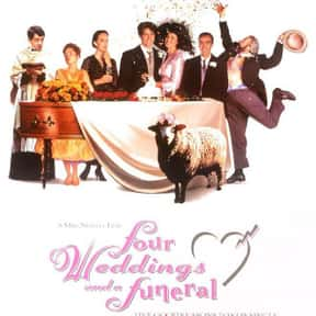 Four Weddings and a Funeral is listed (or ranked) 20 on the list The Best Romance Movies Rated R