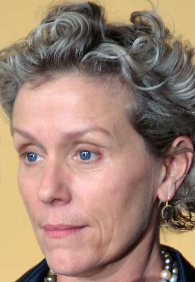 Frances McDormand is listed (or ranked) 8 on the list 99 Celebrities Who Went to Ivy League Schools