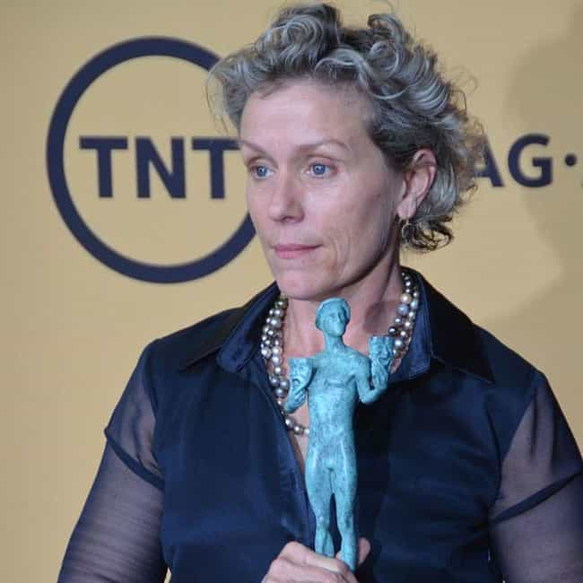 Frances McDormand is listed (or ranked) 4 on the list All Triple Crown Of Acting Winners, Ranked