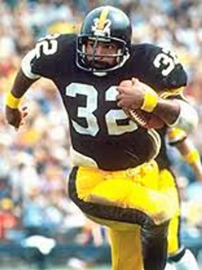 Franco Harris is listed (or ranked) 6 on the list Sports- Greatest NFL Fullbacks of All Time