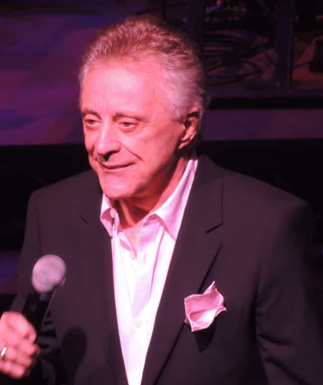 Frankie Valli is listed (or ranked) 3 on the list Old Singers You Didn't Realize Are Still Alive