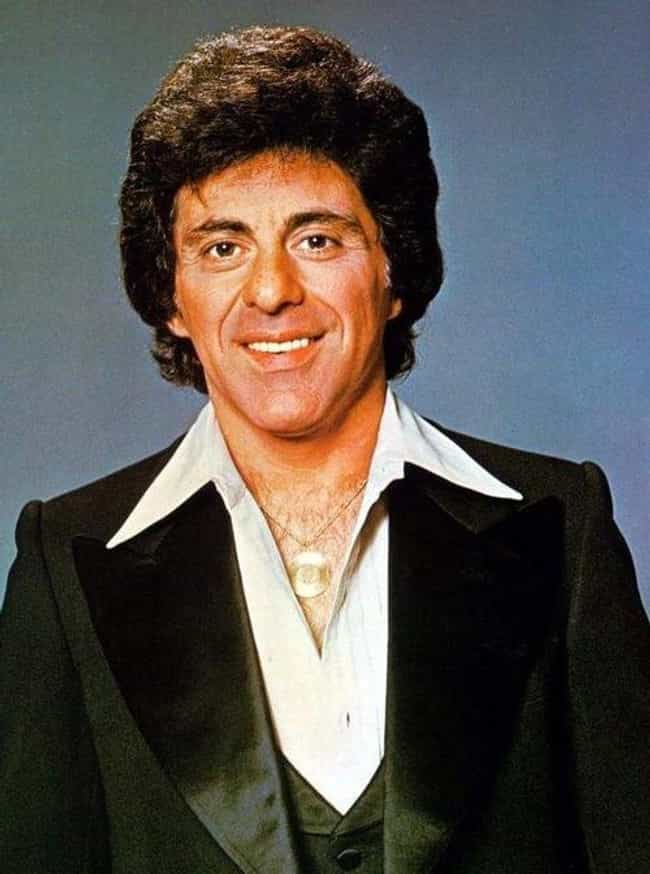 Frankie Valli is listed (or ranked) 3 on the list 20 Celebrities with (Alleged) Ties to the Mafia