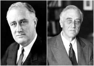 Franklin D. Roosevelt is listed (or ranked) 1 on the list U.S. Presidents Before and After Major Historical Events