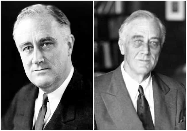 Franklin D. Roosevelt is listed (or ranked) 2 on the list U.S. Presidents Before and After Major Historical Events