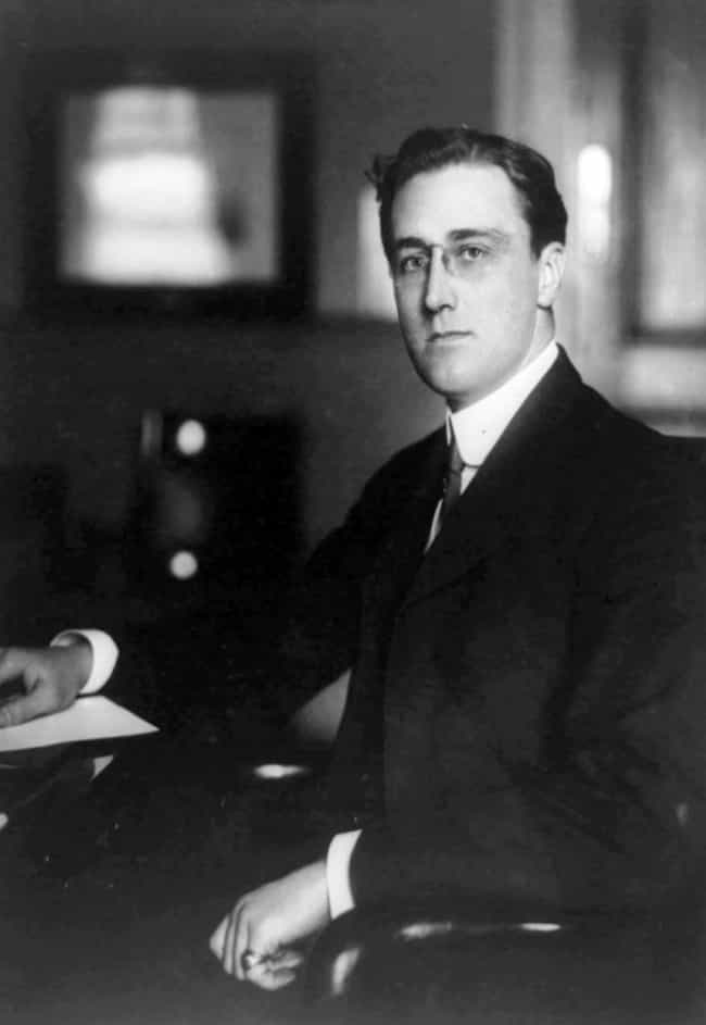 Franklin D. Roosevelt is listed (or ranked) 4 on the list The Hottest US Presidents, Ranked