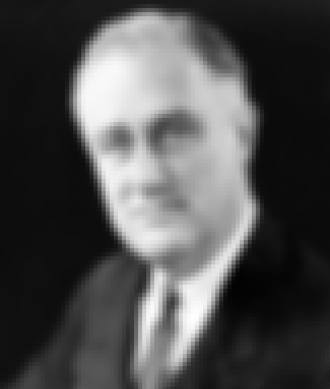 Franklin D. Roosevelt is listed (or ranked) 7 on the list Famous Freemasons List