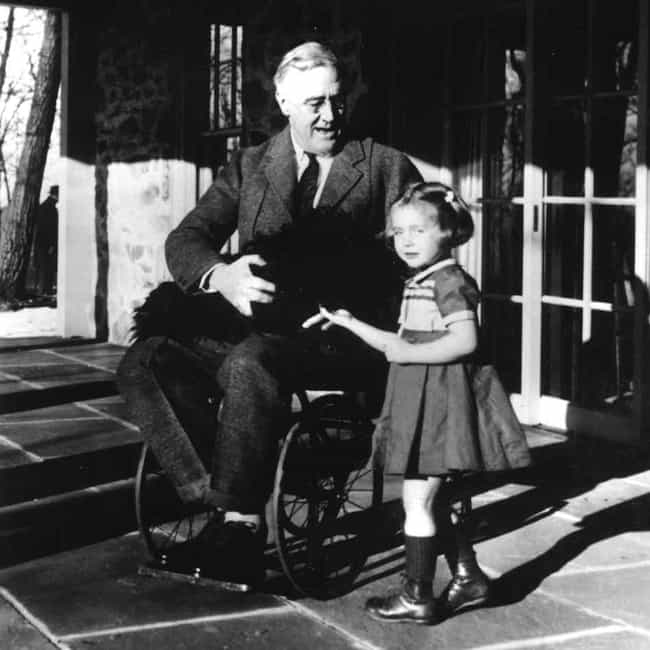 Franklin D. Roosevelt is listed (or ranked) 1 on the list 22 Famous Paraplegics