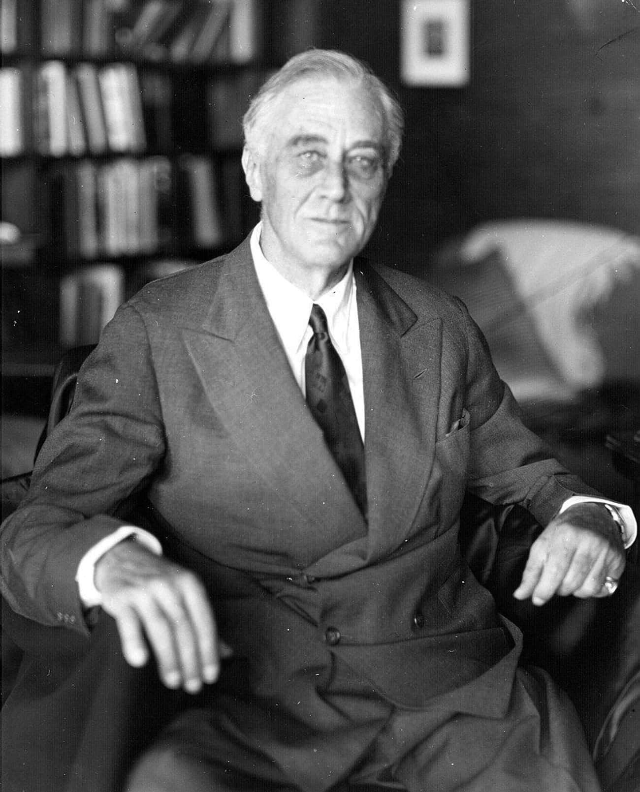 Franklin D. Roosevelt, April 1 is listed (or ranked) 4 on the list The Last Pictures Of US Presidents Before They Died