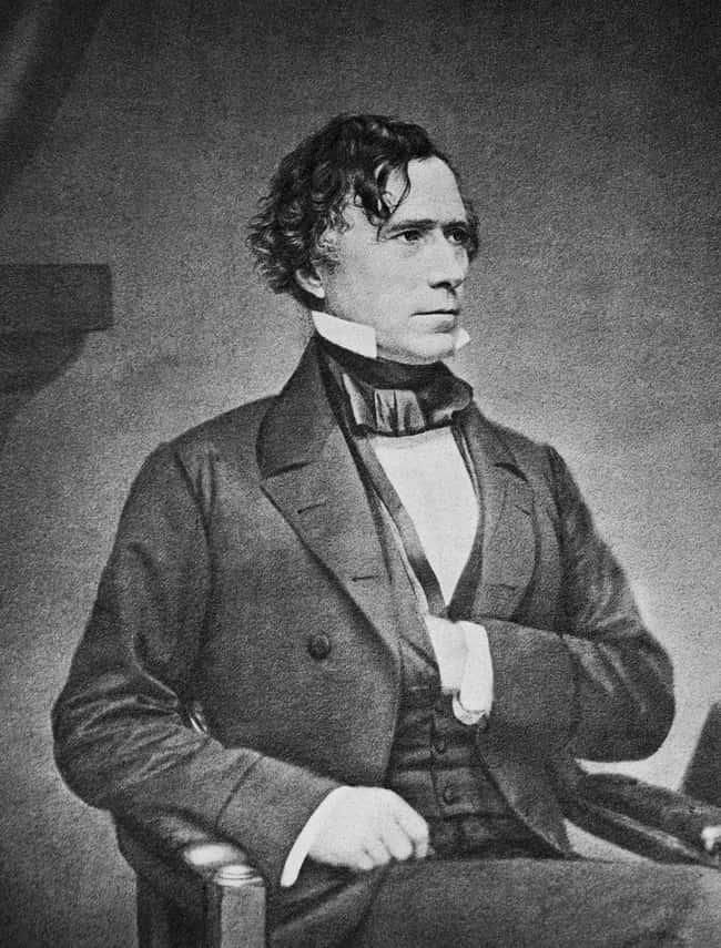 Franklin Pierce is listed (or ranked) 14 on the list Every U.S. President & Every Medical Problem They've Ever Had