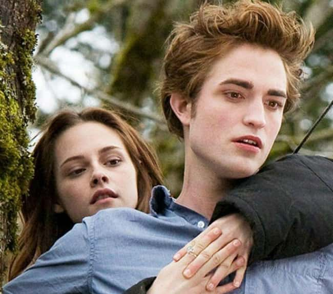 Bella and Edward in Twilight Movies