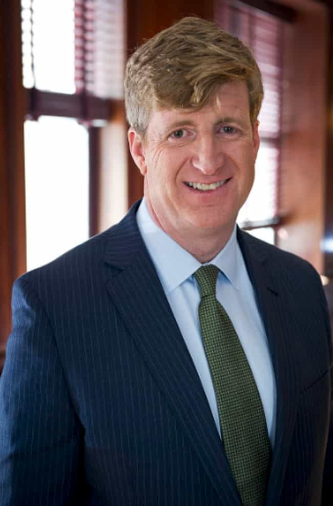 Patrick Kennedy is listed (or ranked) 3 on the list 11 Politicians Who Have (Allegedly) Used Cocaine