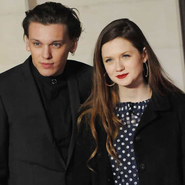 Jamie Campbell Bower is listed (or ranked) 3 on the list Bonnie Wright Loves and Hookups