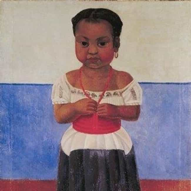 Indian Girl with Coral N... is listed (or ranked) 1 on the list Famous Diego Rivera Paintings