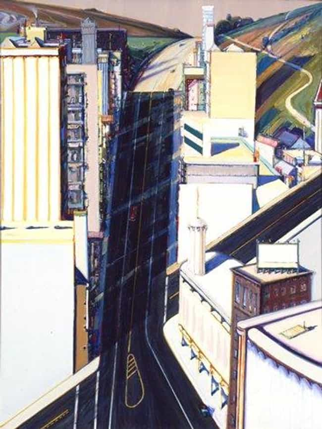 Sunset Streets is listed (or ranked) 4 on the list Famous Wayne Thiebaud Paintings