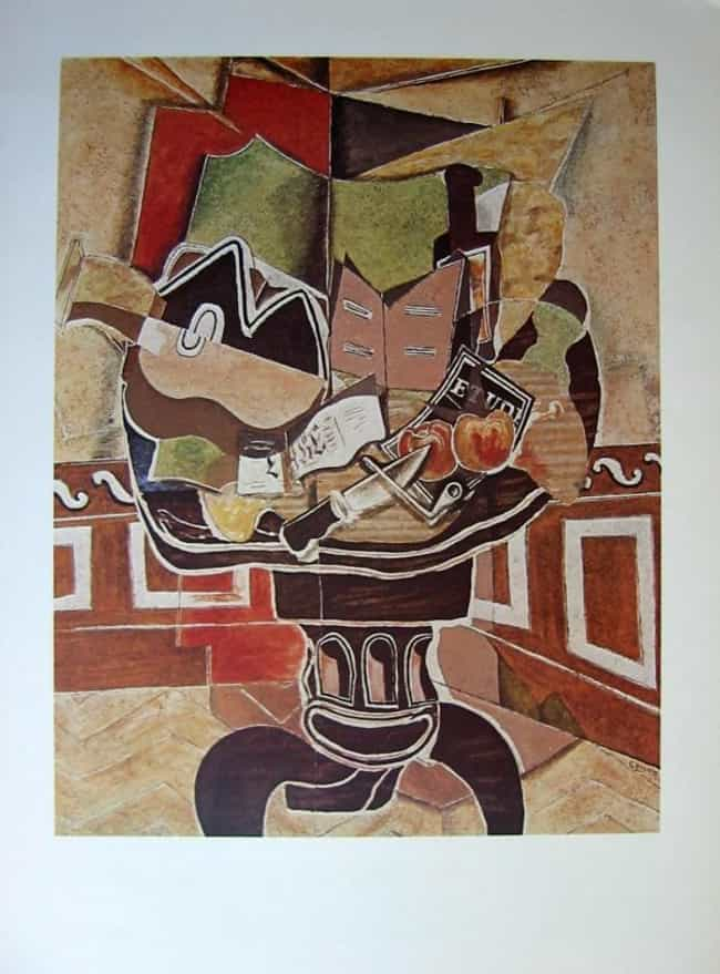 Le Gueridon (The Guerido... is listed (or ranked) 2 on the list Famous Georges Braque Paintings