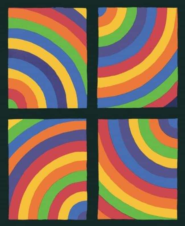 Working drawing for Color Arcs... is listed (or ranked) 3 on the list Famous Sol LeWitt Drawings