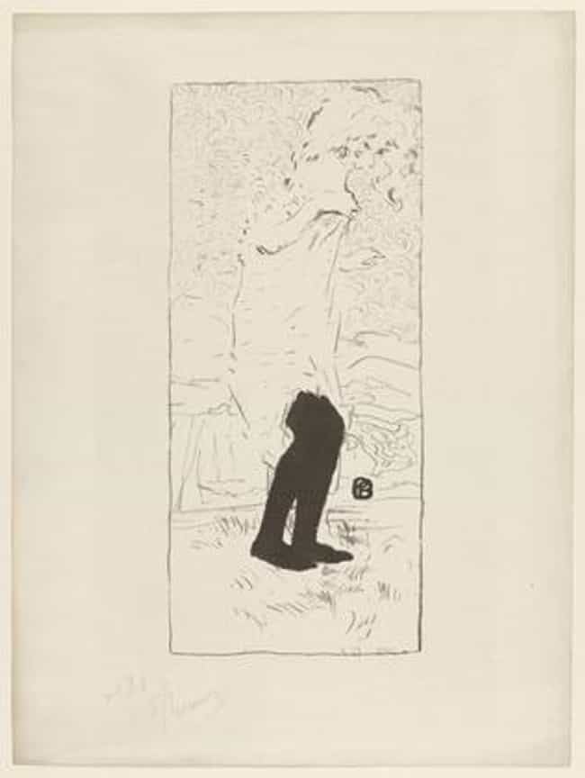 Femme aux bas blancs (Wo... is listed (or ranked) 3 on the list Famous Pierre Bonnard Paintings
