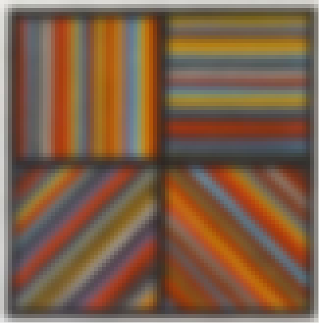 Working drawing for Color Band... is listed (or ranked) 4 on the list Famous Sol LeWitt Drawings