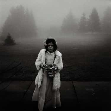 A flower girl at a wedding, Co is listed (or ranked) 1 on the list Famous Diane Arbus Photography