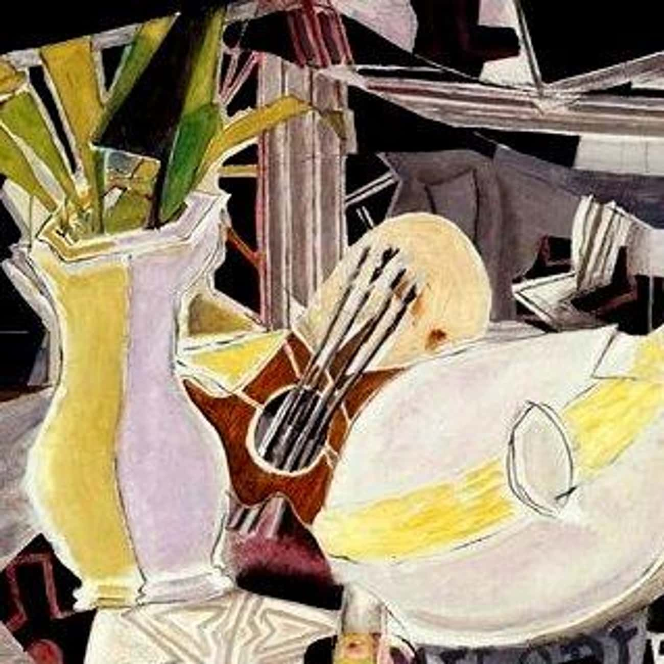 Vase, palette et mandoline (Vase, Palette, and Mandolin)