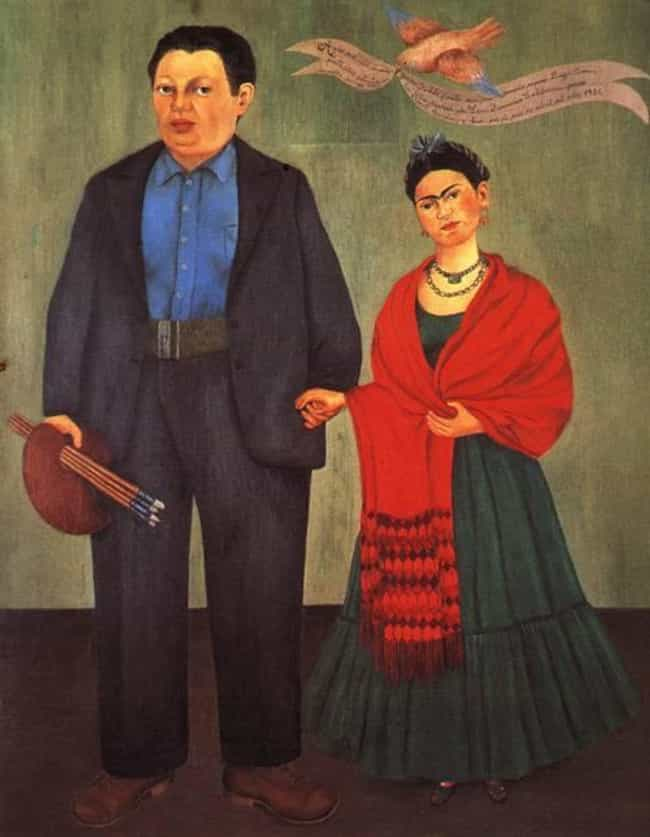 Frieda and Diego Rivera ... is listed (or ranked) 1 on the list Famous Frida Kahlo Paintings