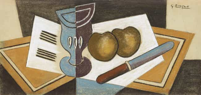 Nature Morte is listed (or ranked) 4 on the list Famous Georges Braque Paintings