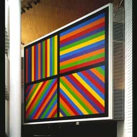 Working drawing for Wall Drawing #935: Color bands in four directions