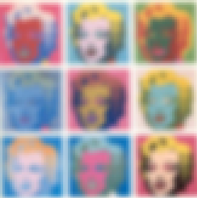 Marilyn Monroe is listed (or ranked) 5 on the list The Most Overrated Paintings of All Time