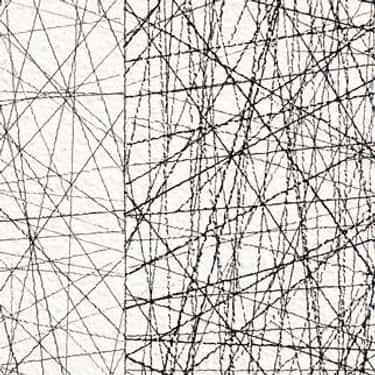 Wall Drawing #45: Straight lines 10