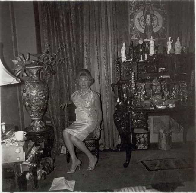 A widow in her bedroom, N.Y.C.... is listed (or ranked) 3 on the list Famous Diane Arbus Photography