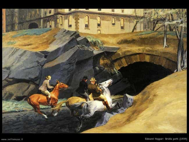 Bridle Path is listed (or ranked) 3 on the list Famous Edward Hopper Paintings