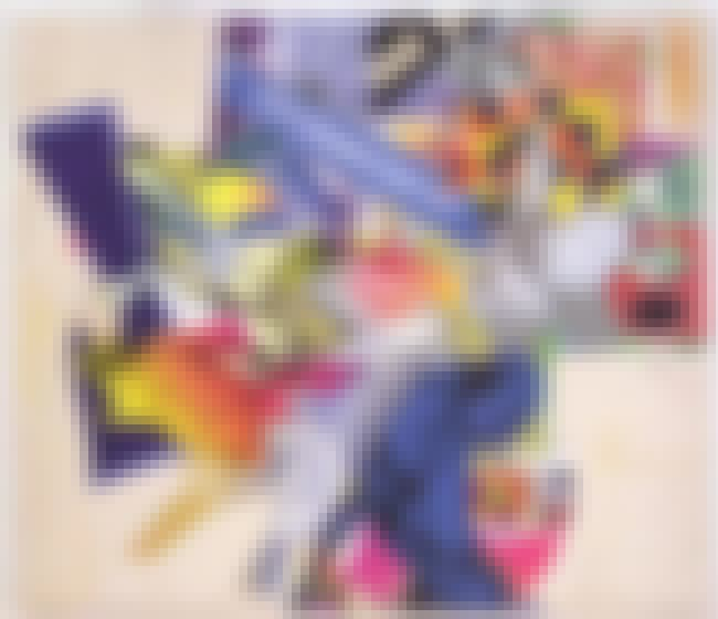 The Duel (Der Zweikampf) F (N#... is listed (or ranked) 4 on the list Famous Frank Stella Paintings