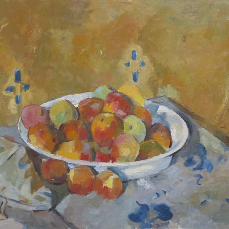 The Plate of Apples
