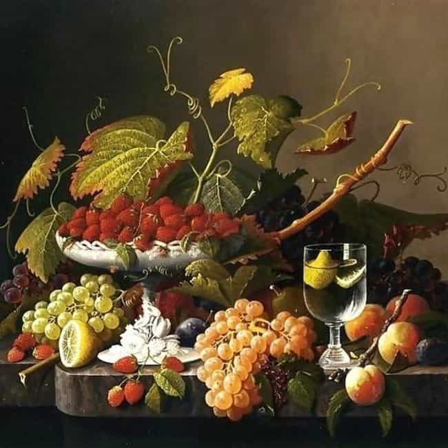An Abundance of Fruit is listed (or ranked) 1 on the list List of Famous Still Life Paintings