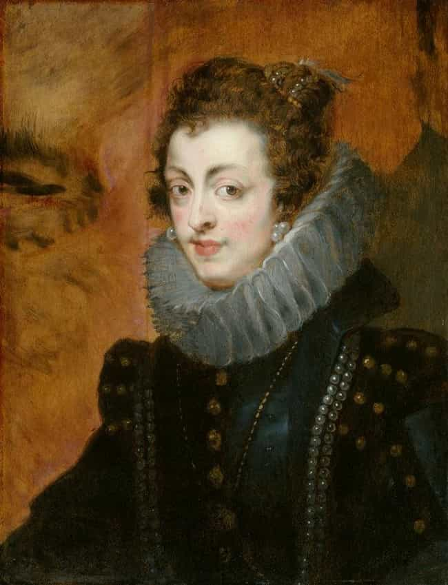 Portrait of Isabella of ... is listed (or ranked) 4 on the list Famous Portraits by Peter Paul Rubens