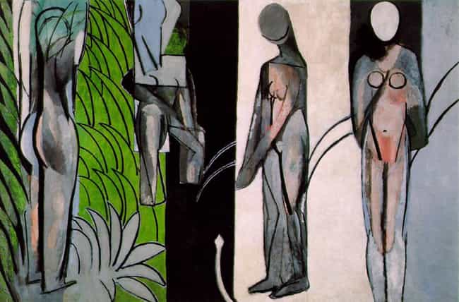 Bathers by a River is listed (or ranked) 4 on the list Famous Henri Matisse Paintings