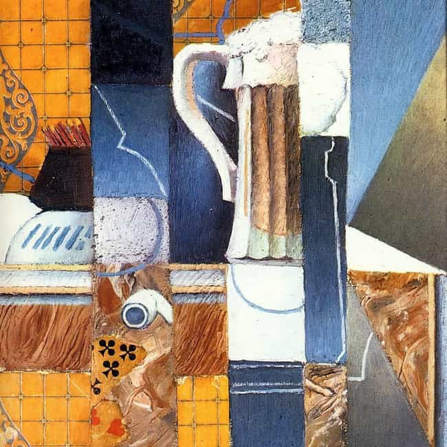 Glass and Playing Cards ... is listed (or ranked) 3 on the list Famous Juan Gris Paintings