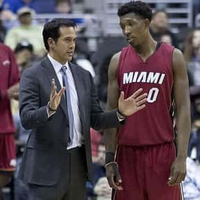 Erik Spoelstra is listed (or ranked) 17 on the list The All Time Greatest NBA Coaches