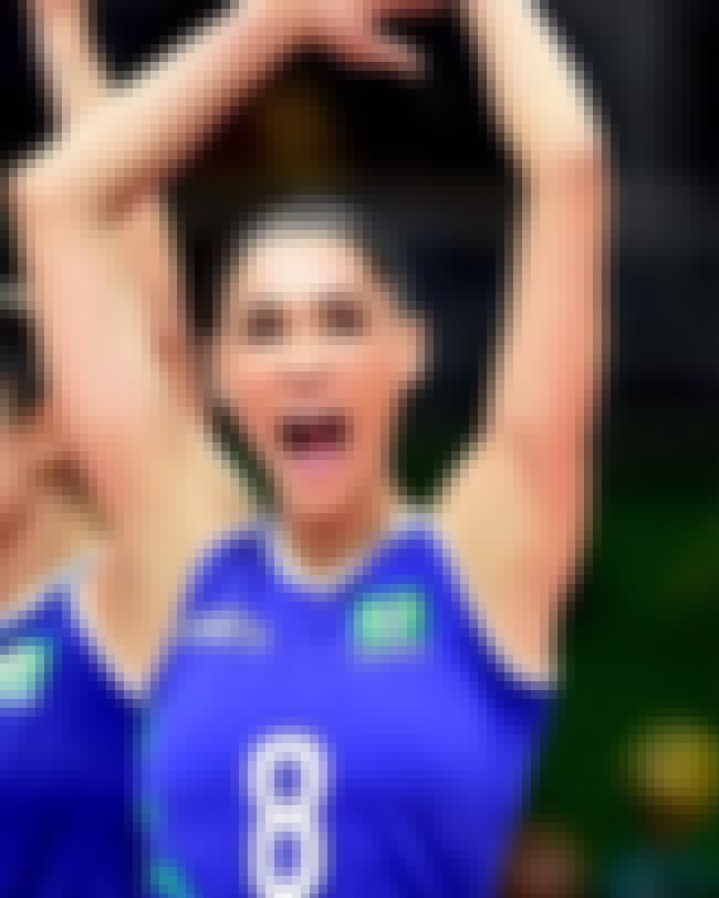Jaqueline Carvalho is listed (or ranked) 4 on the list Famous Female Volleyball Players