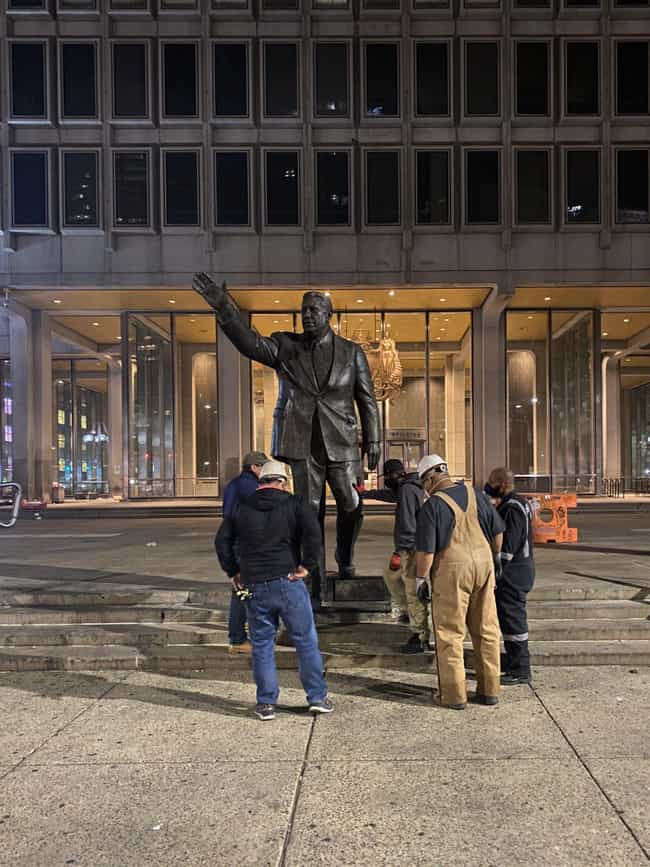 Frank Rizzo is listed (or ranked) 1 on the list 17 Monuments That Were Removed in Disgrace