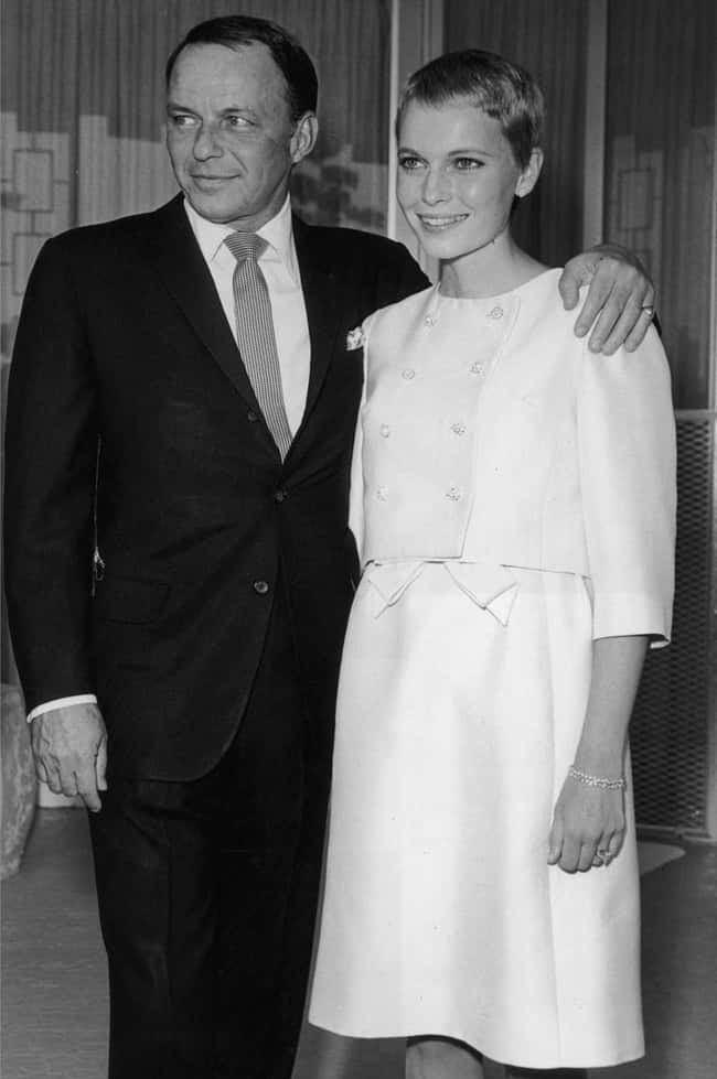 Frank Sinatra is listed (or ranked) 15 on the list 48 Famous Couples with Huge Age Differences