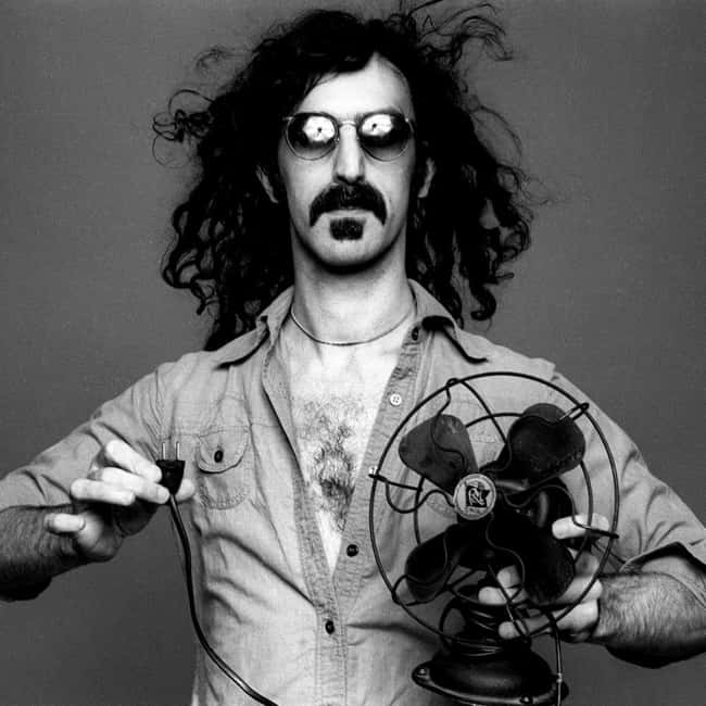 Frank Zappa is listed (or ranked) 16 on the list 29 Famous People (Allegedly) Killed by the Illuminati
