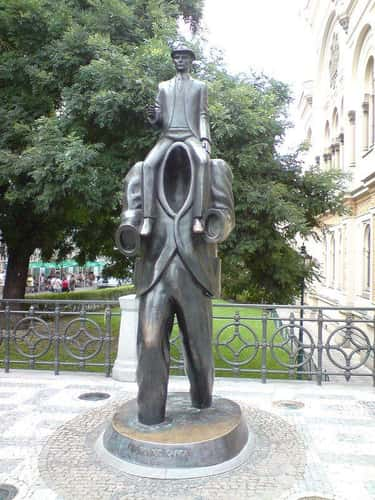 Franz Kafka - Prague, Czech Republic