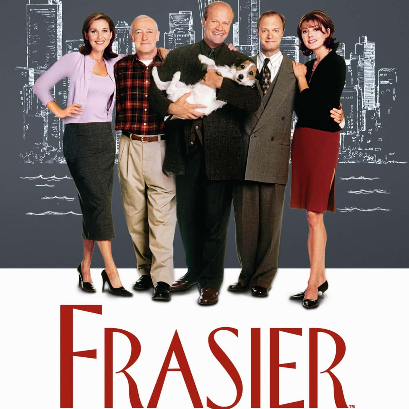 Frasier is listed (or ranked) 2 on the list What To Watch If You Love 'Cheers'