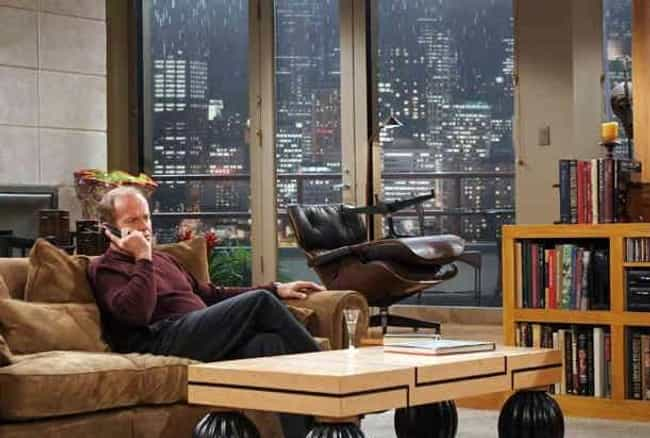 Frasier is listed (or ranked) 1 on the list Stunning TV Apartments You'd Sell Your Soul For